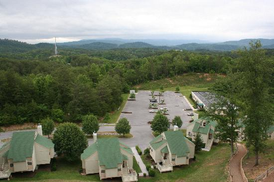 Sunrise Ridge Resort: Our balcony view