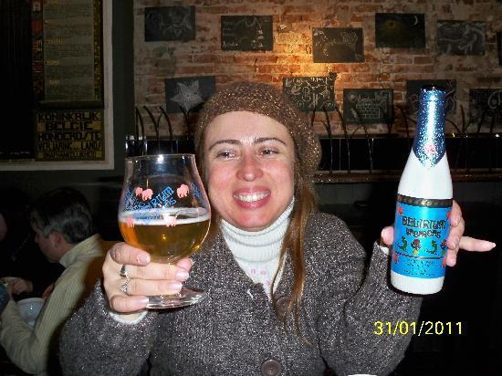 Le Cafe de Bruxelles: La mejor cerveza!!!!!!!