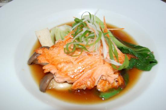 House Without a Key: Miso salmon