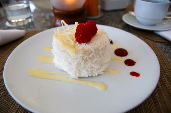 House Without a Key: Coconut cake