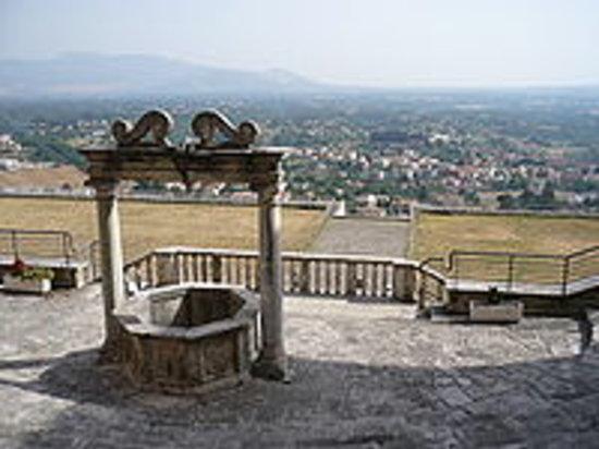 Palestrina, Italia: vista tempio