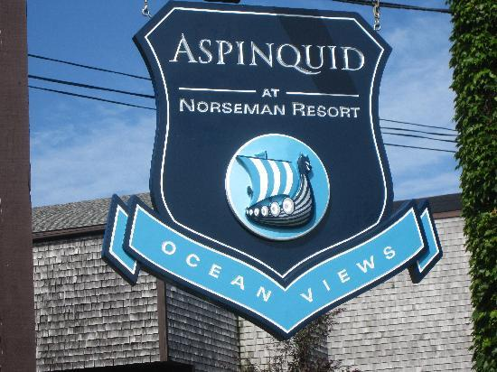 ‪‪Aspinquid at Norseman Resort‬: New Logo‬