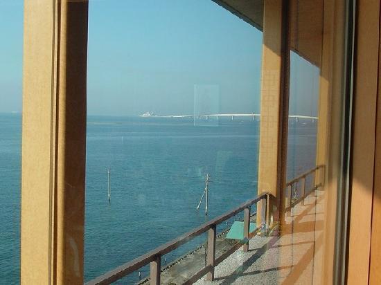 Kisarazu, Japan: 海ほたるが見えます