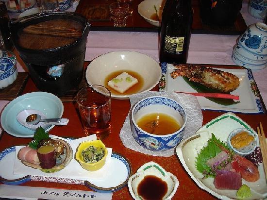 Hotel Sun Hatoya : 食事