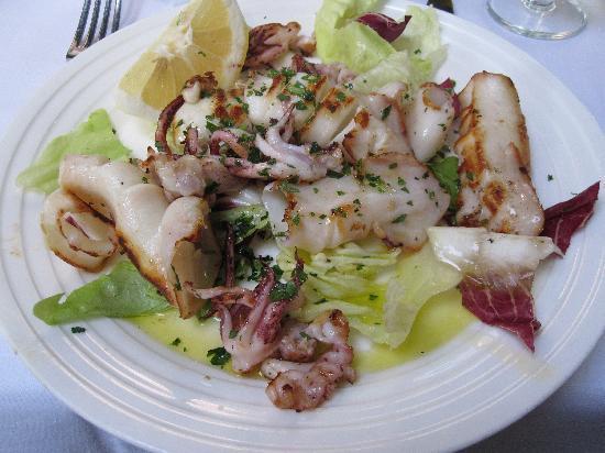 Trattoria Fiammetta: grilled squid