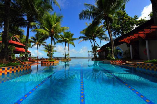 Taj Malabar Resort & Spa Cochin: The infinity pool