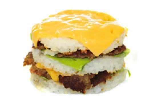 Love Sushi: Burger de sushi