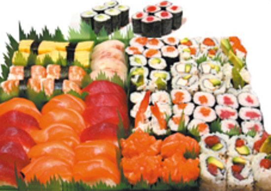Love Sushi: plateau Ambassadeur
