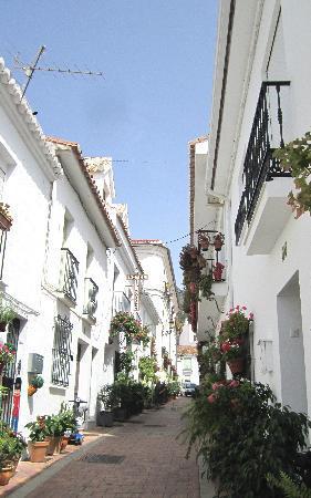 La Posada Hotel: The street of the hotel. So pretty!