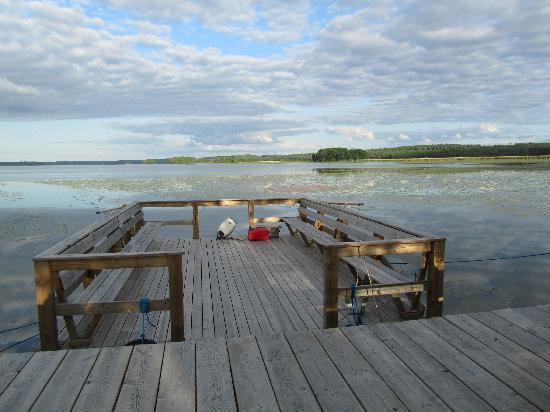 Strand Golf Hotel: Das hauseigene Flossboot-