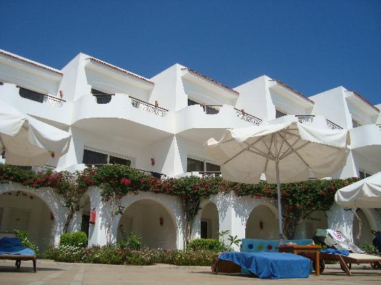 Iberotel Palace: Rooms by the pool