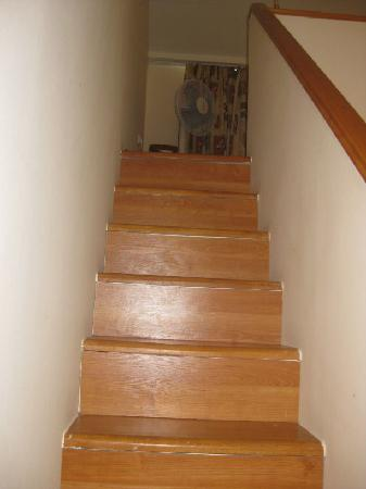 Olympion Asty: Stairs to the loft