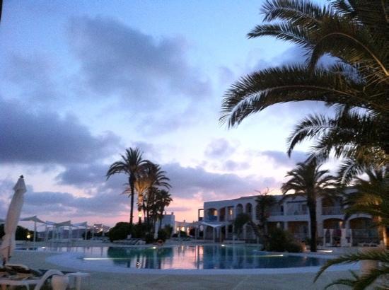 The One Ibiza: vista dal ristorante