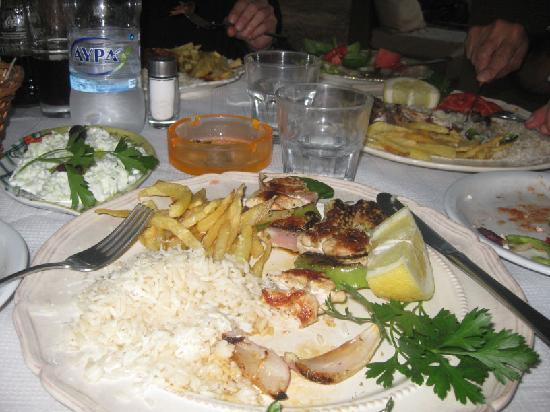 Gialova, Greece: Yummy, yummy, yummy