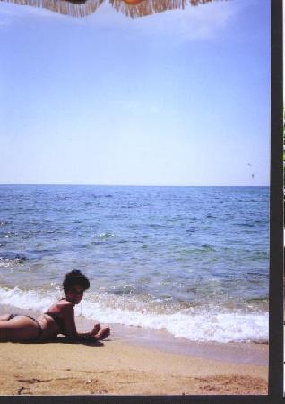 Hotel Athene Neos : on th e beach Santa Cristina