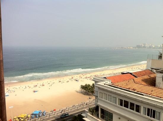 PortoBay Rio Internacional Hotel: view from balcony
