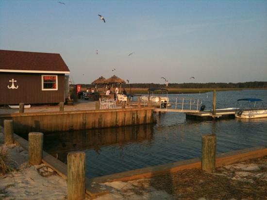 Snug Harbor Marina and Cottages: the view from our cottage