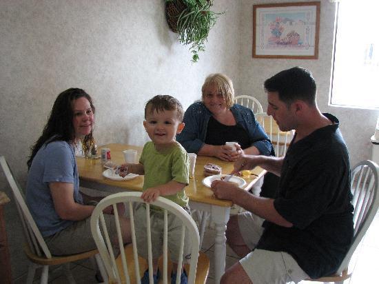 Comfort Inn Cedar Park: Breakfast!