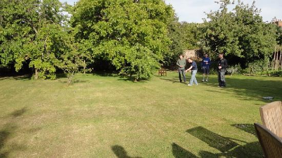 The Old House: Boules in the garden