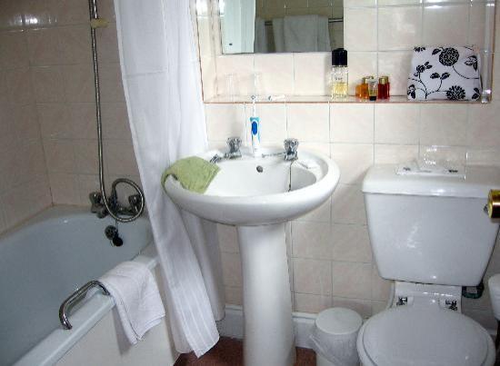Shanklin Beach Hotel: bathroom