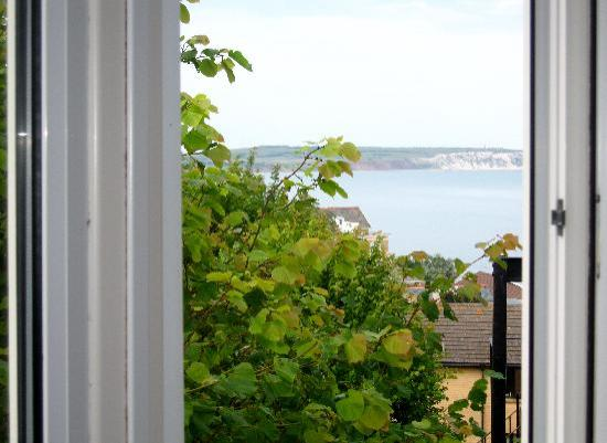 Shanklin Beach Hotel: view from window