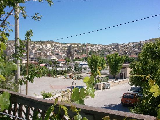 Emre Cave House: view of Goreme from the terrace
