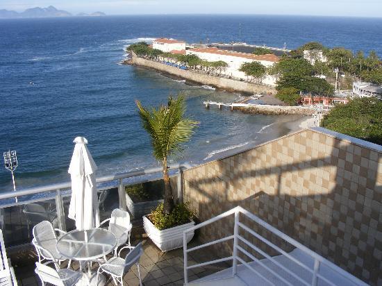 Orla Copacabana Hotel: Das Fort von Copacabana direkt vor der Haustür
