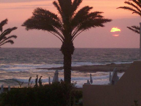 Louis Ledra Beach: the sunset