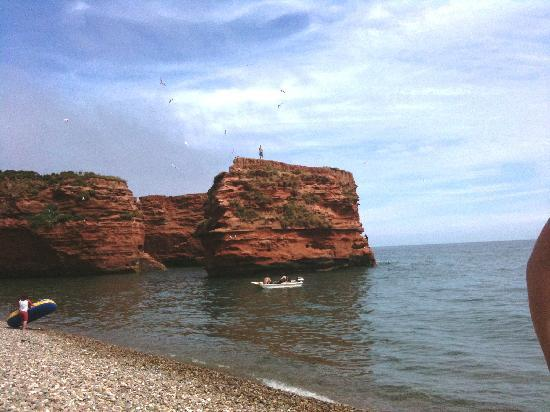 Otterton, UK: Ladram Bay