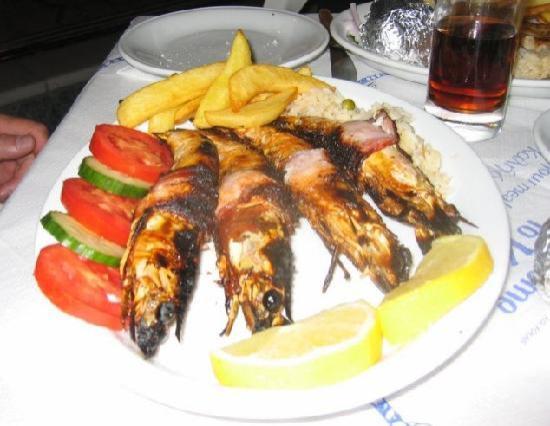 Shrimps at The Caravan Restaurant