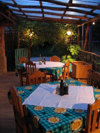 Al Manglar Bar & Pizzeria: The most outdoor part of the restaurant