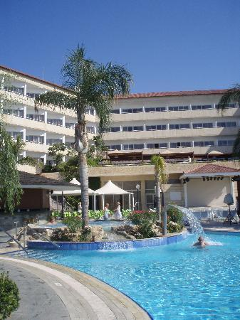 Atlantica Bay Hotel : Hotel from main pool