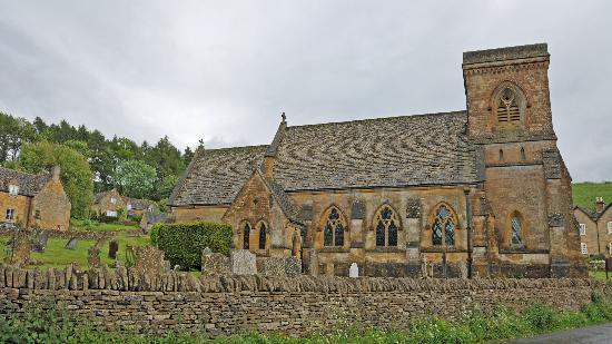 The Old School Bed and Breakfast: Snowshill church