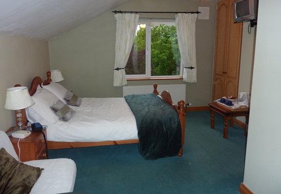 Aaronbeg Bed and Breakfast : Our bedroom