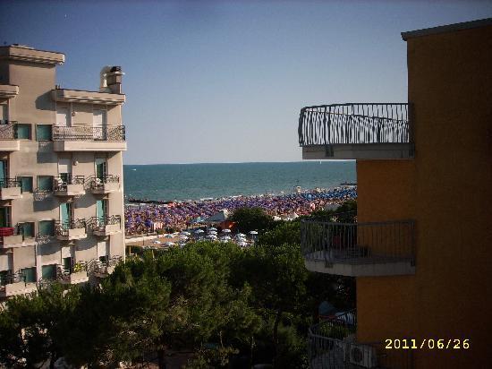 Hotel Jet: Blick vom Balkon