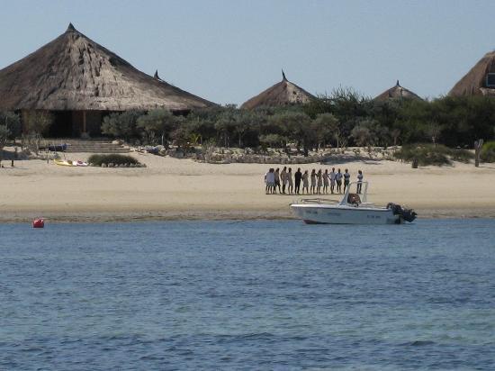 Anakao Ocean Lodge: Welcome to resort
