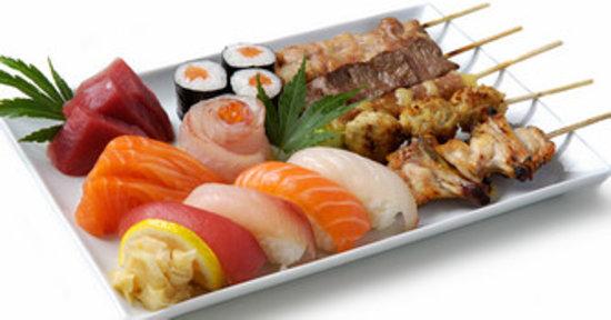 Momiji: menu mixt
