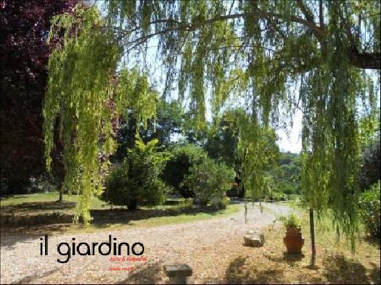 Agriturismo il Geranio: il giardino