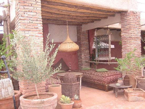 Riad les Inseparables: Terrasse