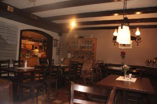 Landgasthof Rössle: Il ristorante