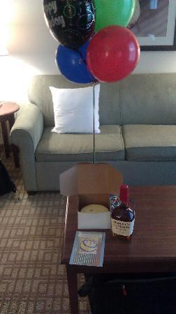 Homewood Suites by Hilton Wilmington/Mayfaire: Birthday Surprise