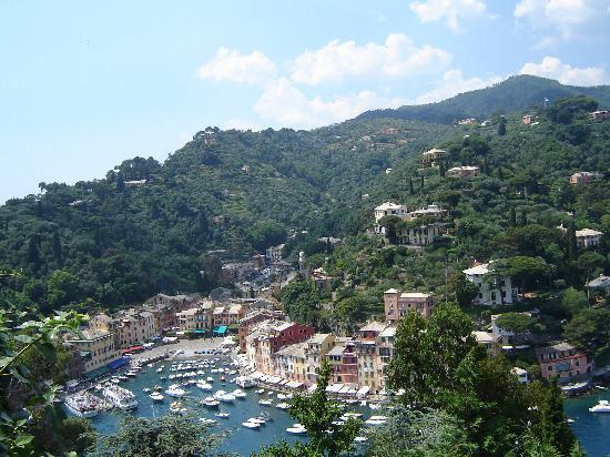 Castello Brown: Portofino from Castle Brown