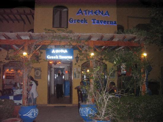 Athena Greek Taverna : so siehts von außen aus!