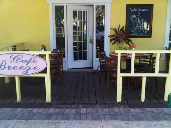 Cafe Breeze, for tasty food and friendly atmosphere!