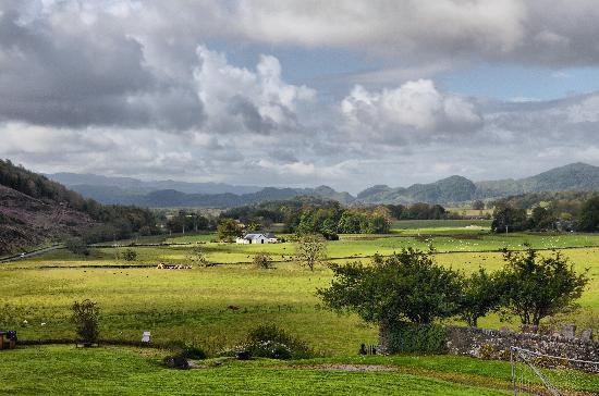 Kilmartin, UK: View from 'Autumn' room