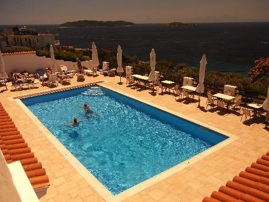 Villa Apollon Skiathos: pool view1