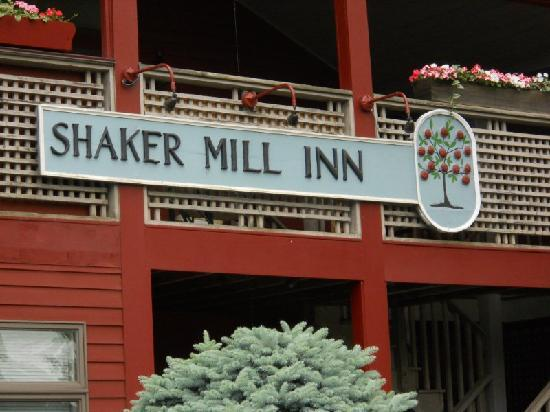 The beautiful Shaker Mill Inn