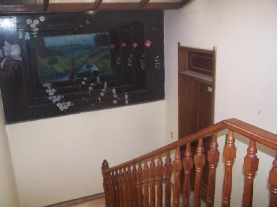 Hotel Pirarucú: la escalera