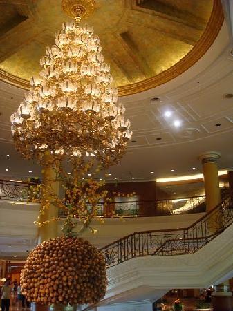 Makati Shangri-La Manila: Entrance