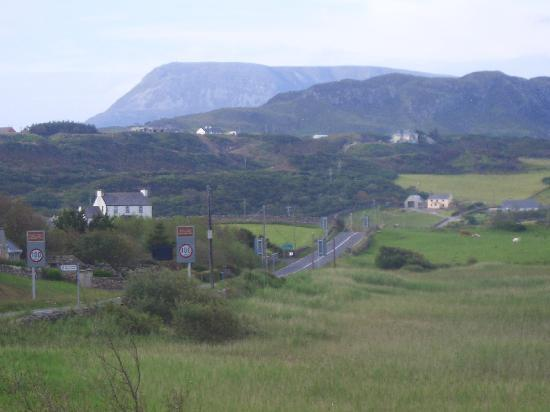 Dunfanaghy, Irlanda: View from our bedroom.